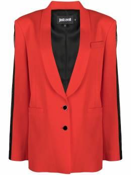 Just Cavalli single-breasted tuxedo blazer S02BN0157N39617