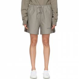 Essentials Taupe Volley Shorts 160HO202024F