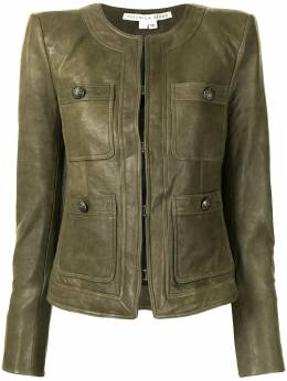 Veronica Beard fitted leather jacket 2012LT0041713