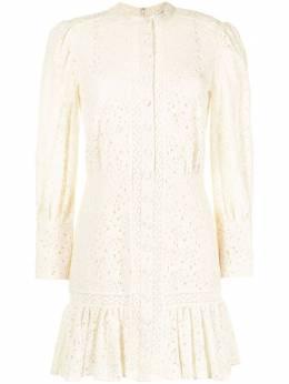 Veronica Beard платье с цветочной вышивкой 2012LC009D031