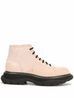 Alexander McQueen ботинки на шнуровке 595469WHZ28