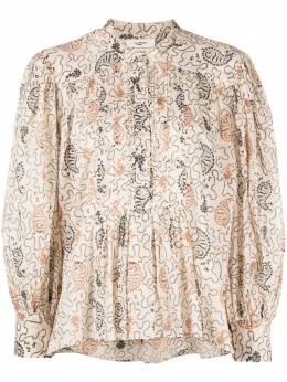 Isabel Marant Etoile блузка с принтом пейсли HT197721P031E