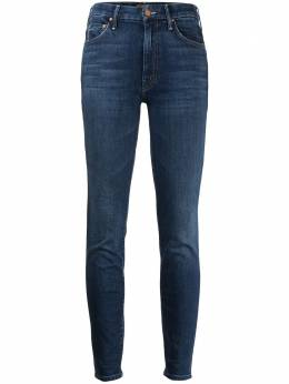 Mother джинсы скинни средней посадки 1221661