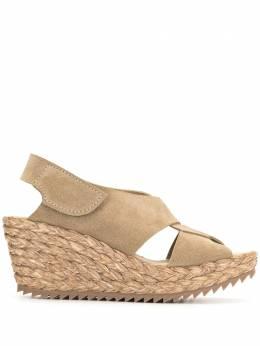 Pedro Garcia braided raffia sole sandals FENENRAV21