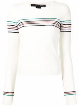 Veronica Beard contrasting stripe jumper J2012KD5360858