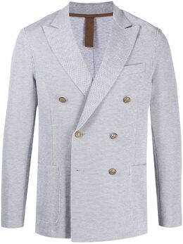 Eleventy пиджак с тиснеными пуговицами C70GIAA02JAC23021