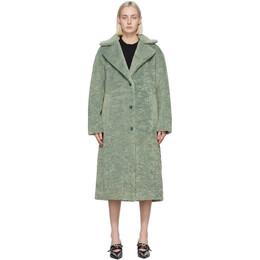 Proenza Schouler Green Teddybear Coat WL2111019