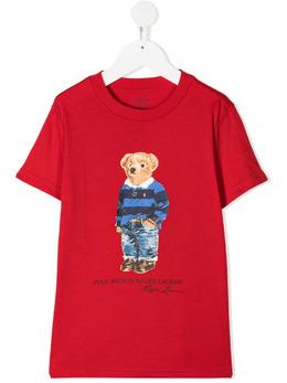 Ralph Lauren Kids футболка с принтом 321799045005