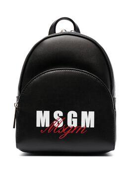 MSGM Kids рюкзак с логотипом MS026858