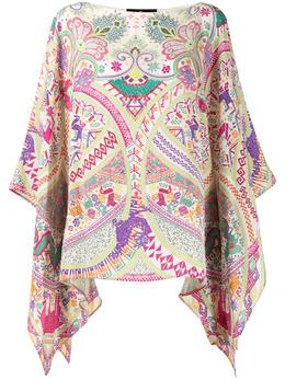Etro блузка с принтом пейсли 158045623