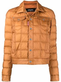 Dsquared2 cropped quilted puffer jacket S75AM0838S53815