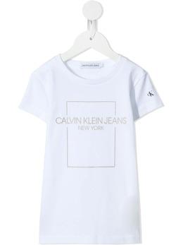 Calvin Klein Kids футболка с логотипом IG0IG00762