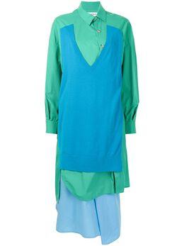 Enfold многослойное платье-рубашка длины миди 300ES2730910