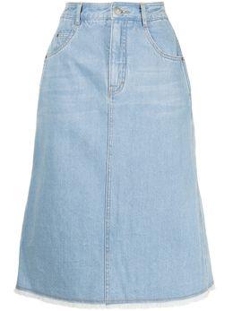 Portspure джинсовая юбка миди RM3S010LZC005