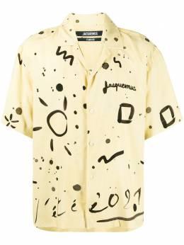 Jacquemus рубашка La Chemise Jean 215SH21215111823