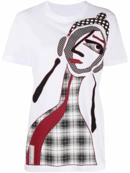 Antonio Marras футболка с аппликацией LB0001D15