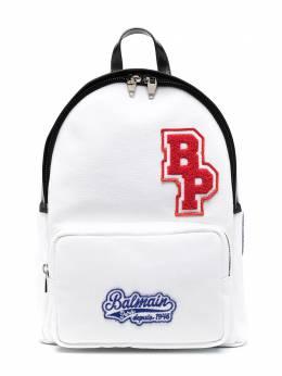 Balmain Kids рюкзак на молнии с логотипом 6O0518OC890