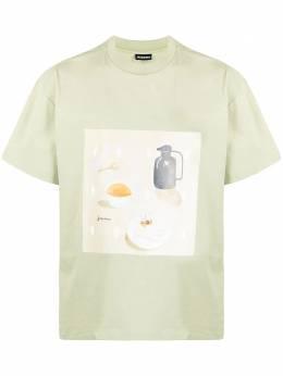 Jacquemus футболка Tableu с круглым вырезом 215JS1121522405C