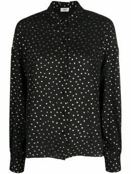 Liu Jo рубашка в горох с эффектом металлик WA1188T4820