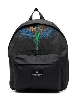 Marcelo Burlon Kids Of Milan рюкзак на молнии с логотипом 9510