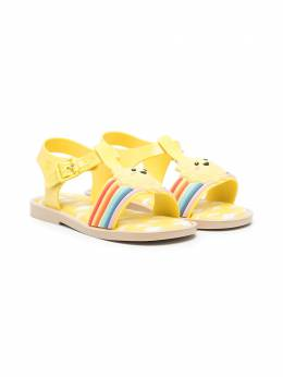 Mini Melissa Sunny Day appliqué sandals 33224