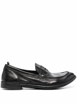 Officine Creative leather slip-on loafers OCUARC509IGNIS1000
