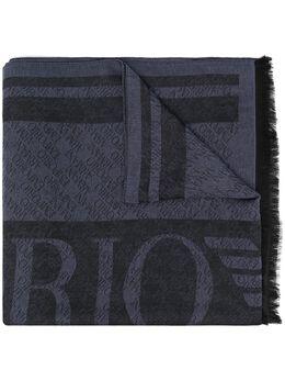 Emporio Armani шарф с монограммой 6252501P360