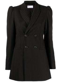 Red Valentino pinstriped double-breasted blazer VR3CEC205LD