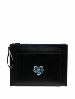 Kenzo embroidered tiger clutch bag FA65PM312L48