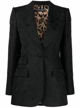 Dolce&Gabbana single-breasted blazer F29DOTHJMLM