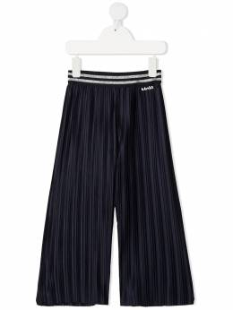 Molo stripe-detail pleated trousers 2S21I207