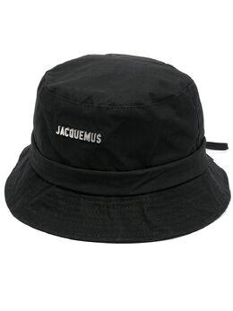Jacquemus панама Le Bob с логотипом 215ACC03215504990