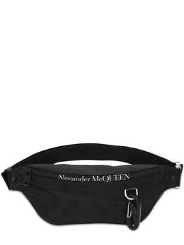 Сумка На Пояс Из Нейлона Alexander McQueen 73I1UP013-MTAwMA2