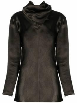 Bottega Veneta блузка со сборками и длинными рукавами 648952V0CS0
