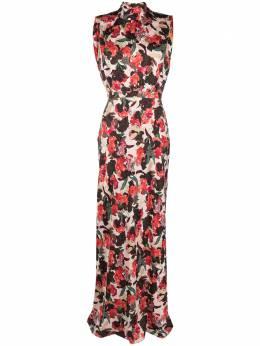 Saloni платье с цветочным принтом 14271535