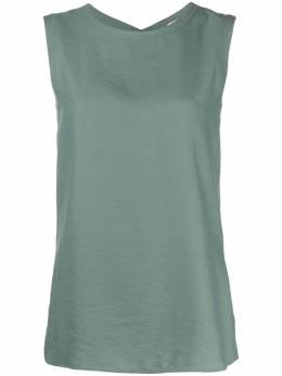 Alysi блузка без рукавов с завязками 101230P1043