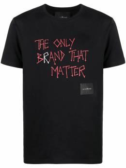 John Richmond футболка The Only Brand That Matter RMP21039TS