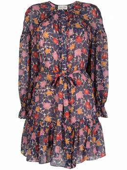 Saloni платье с цветочным принтом 104471492