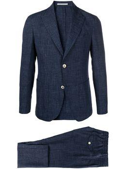 Eleventy однобортный пиджак строгого кроя C75ABUC10TES0A035