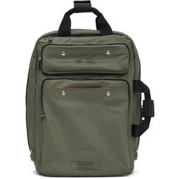 Diesel Green Trophy Backpack X07027P3308