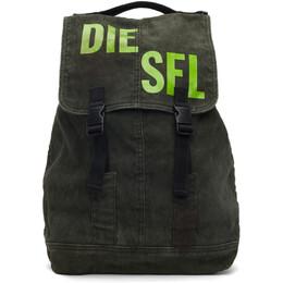 Diesel Green Granyto Backpack X07424PR163
