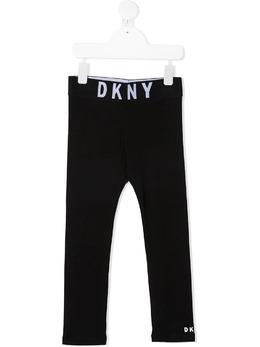 DKNY Kids logo print leggings D34A09