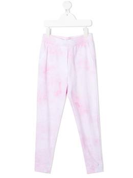 Monnalisa tie dye-print track trousers 4974037050