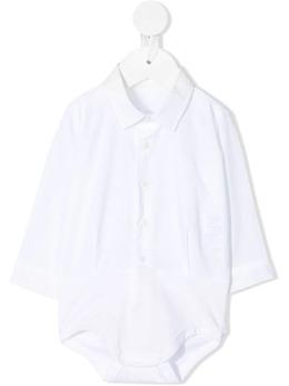 Il Gufo поплиновое боди-рубашка P21MB053C0031