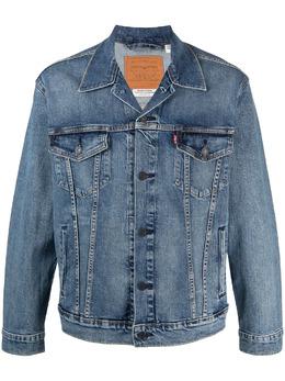 Levi's джинсовая куртка Trucker с контрастной строчкой 72334