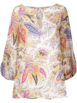 Etro блузка с принтом пейсли 146145458