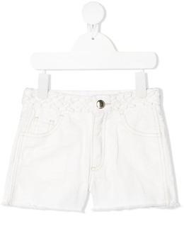 Chloe Kids braided waistband shorts C14662