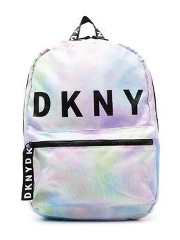DKNY Kids tie dye print backpack D30508