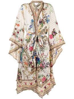 Camilla жакет с цветочным принтом и завязками 00010897