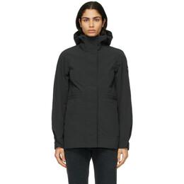 Canada Goose Black Black Label Davie Coat 2428LB